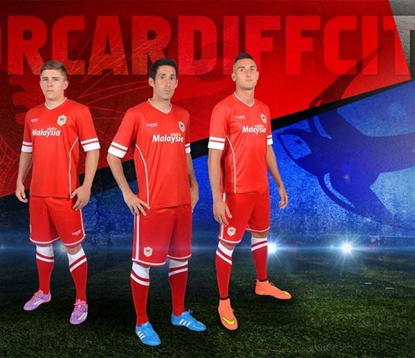 Cardiff City Home Shirt 2014 15