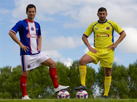 Carlisle United Home Kit 2014 2015