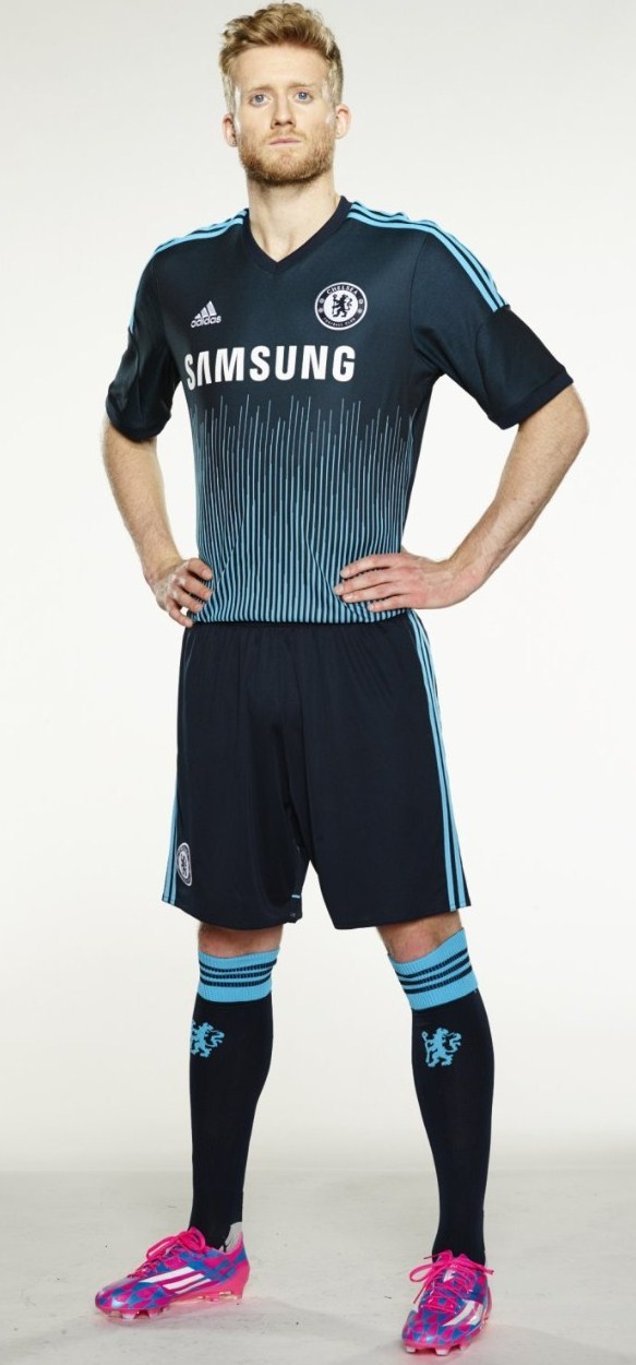 release date: 77002 8eb6e New Chelsea Third Kit 2014-15 Blue CFC Soundwave Champions ...
