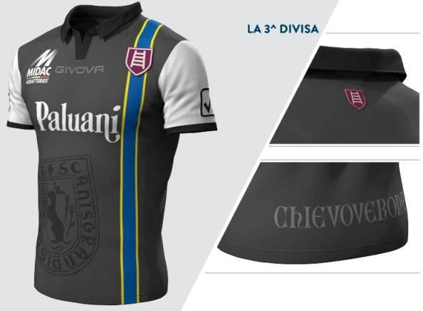Chievo Verona Third Shirt 14 15