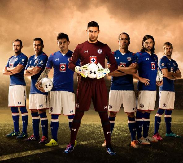 Cruz Azul Football Shirt 2014 15