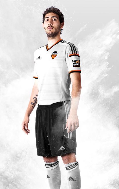 Dani Parejo Valencia Jersey 2014 15