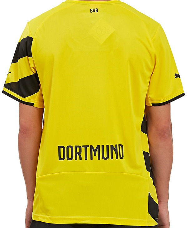 Dortmund Home Shirt Back