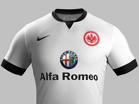 Eintracht Away Shirt 2014 15