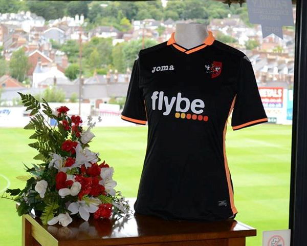Exeter City Away Shirt 2014 15