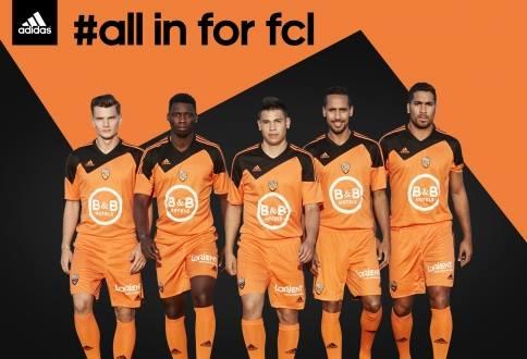 FC Lorient Adidas Kit 14 15