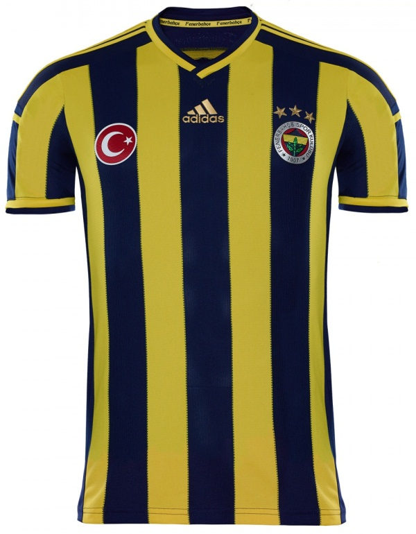 Fenerbahce Home Jersey 2014 15
