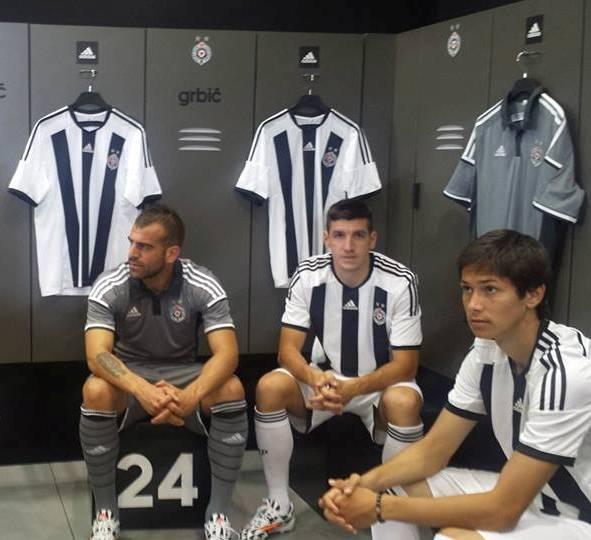 Fk Partizan Belgrade Shirt 2014 2015