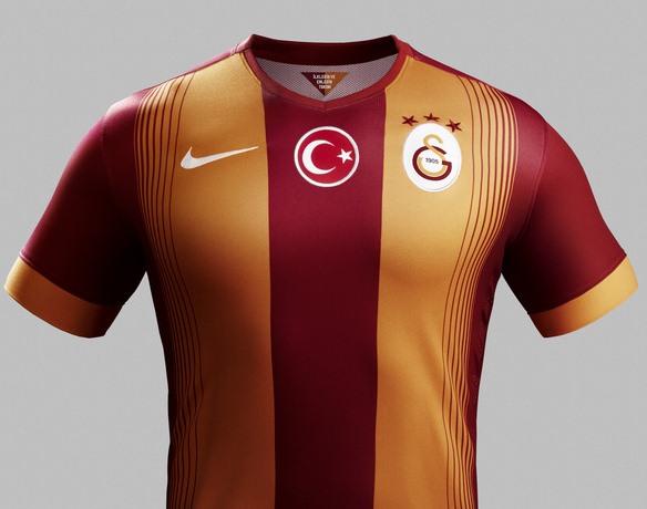 Galatasaray Home Shirt 2014 15