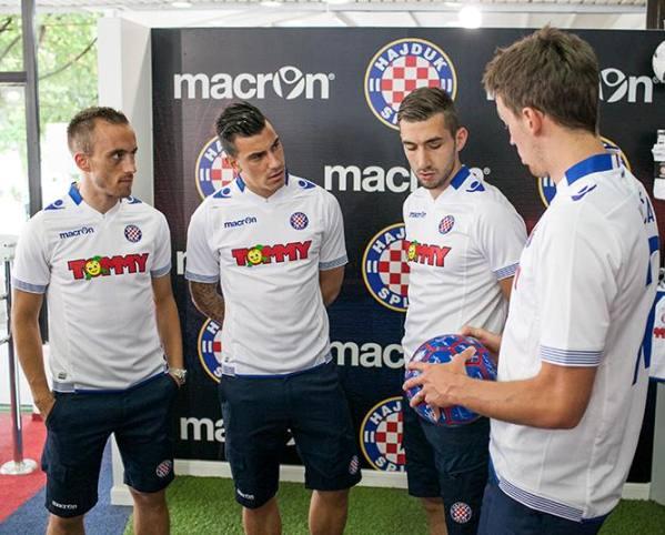 Hajduk Split Shirt 2014 15