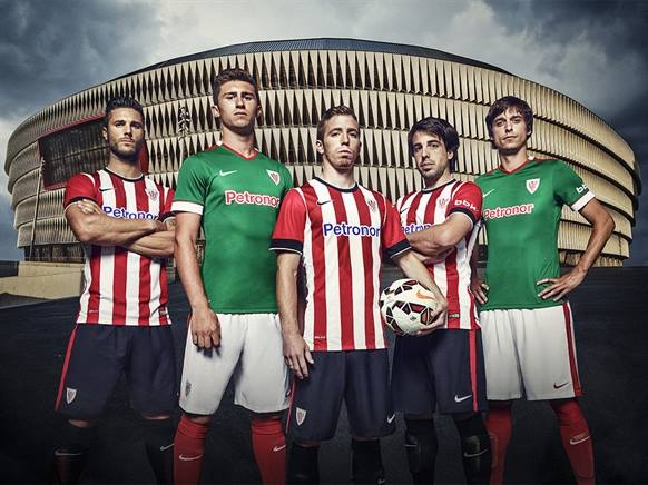 Jersey Athletic Bilbao 2014 2015