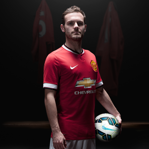 New Manchester United Kit 14/15- Nike Man Utd Home Jersey ...