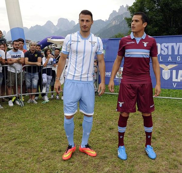 Lazio Away Kit 14 15