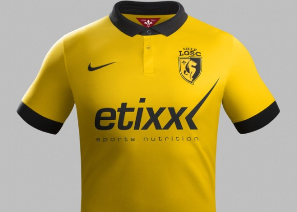 Lille Away Kit 2014 15