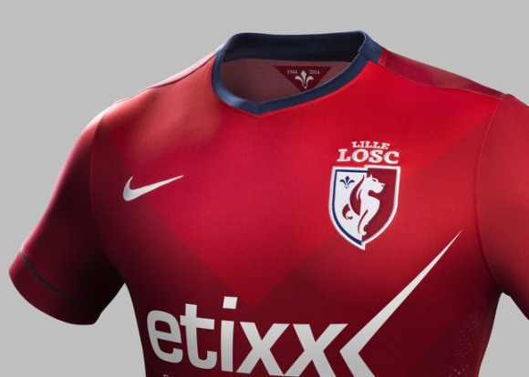 Lille Home Jersey 14 15