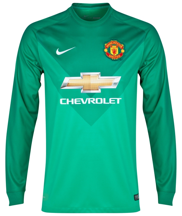 Man U Goalkeeper Shirt 2014 15