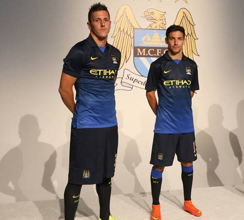 Manchester City Away Shirt 2014 15