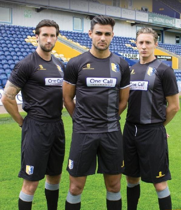 Mansfield Town Away Kit 2014 15