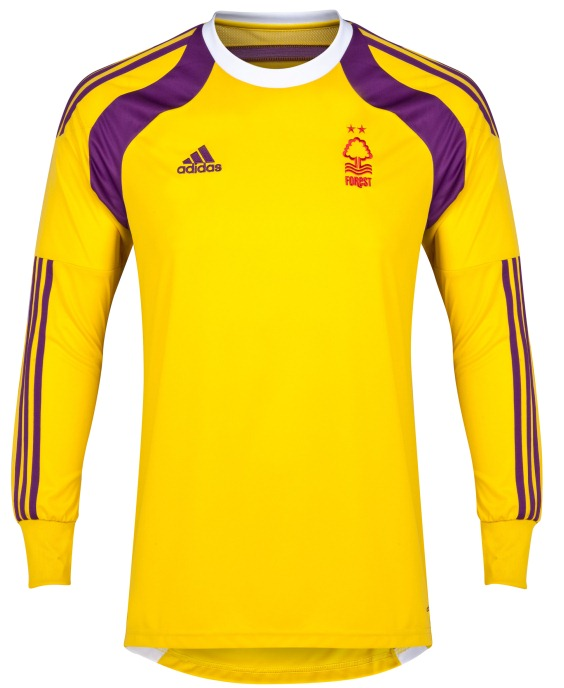 NFFC Home Goalkeeper Kit 2014 15