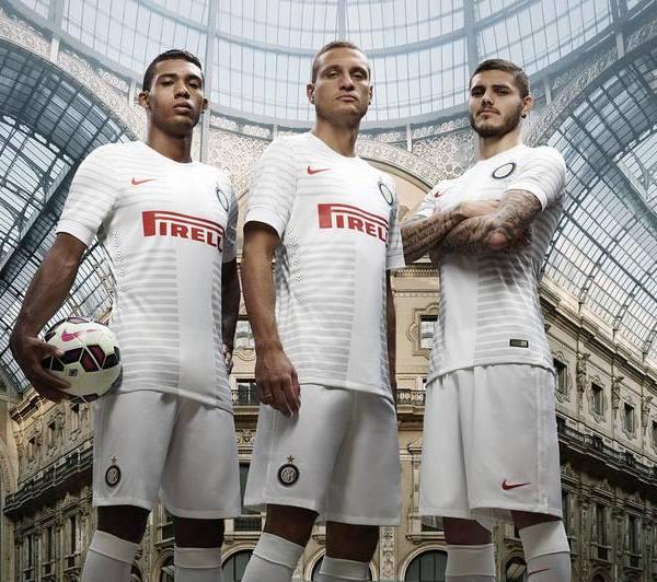 Nemanja Vidic Inter Jersey 2014 15