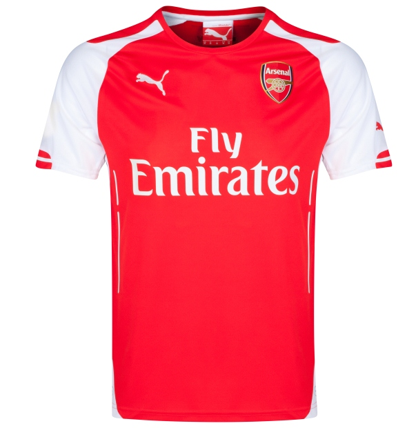 New Arsenal Home Kit 2014 2015