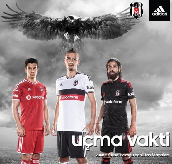 New Besiktas Kit 14 15