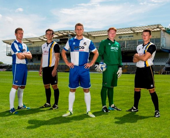New Bristol Rovers Home Kit 14 15