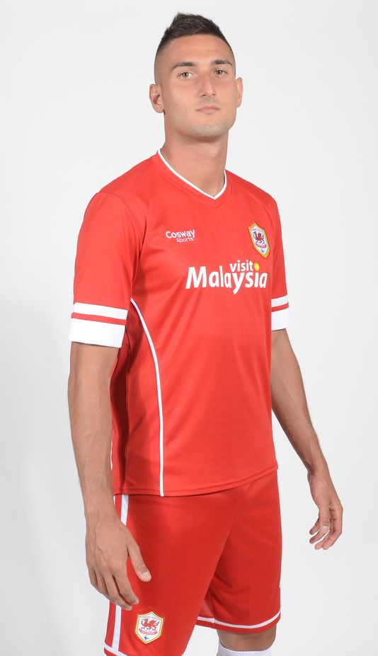 New Cardiff City Home Kit 14 15