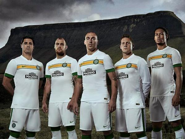 New Celtic Third Strip 14 15