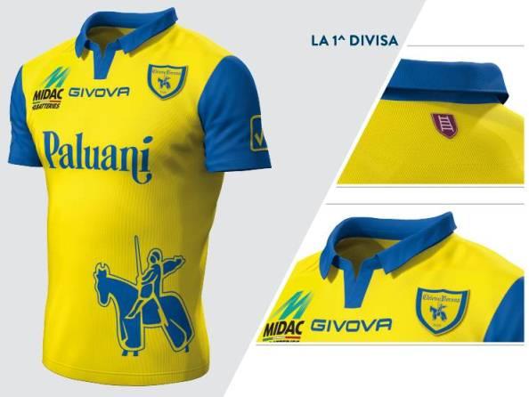 New Chievo Home Kit 14 15