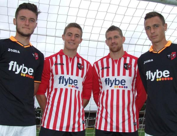 New Exeter City Kits 2014 15