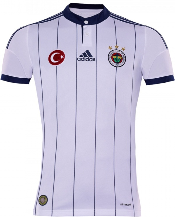 New Fenerbahce Away Kit 14 15