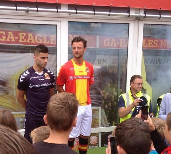 New Go Ahead Eagles Shirt 14 15