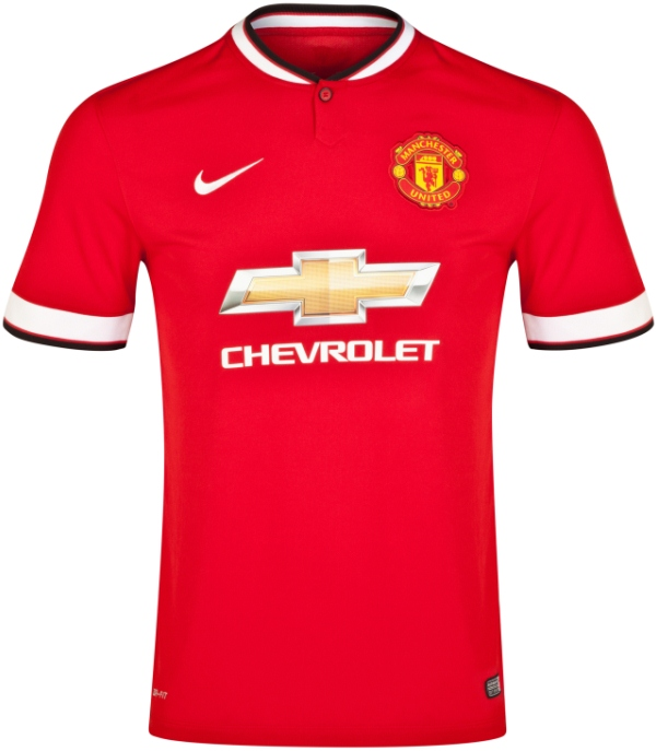New Manchester United Kit 14 15- Nike Man Utd Home Jersey 2014 2015 ... cf3a97958