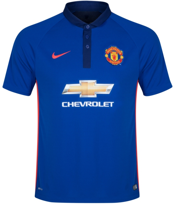 New Man Utd Third Kit 14 15