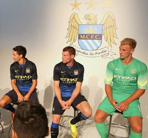New Manchester City Away Kit 14 15