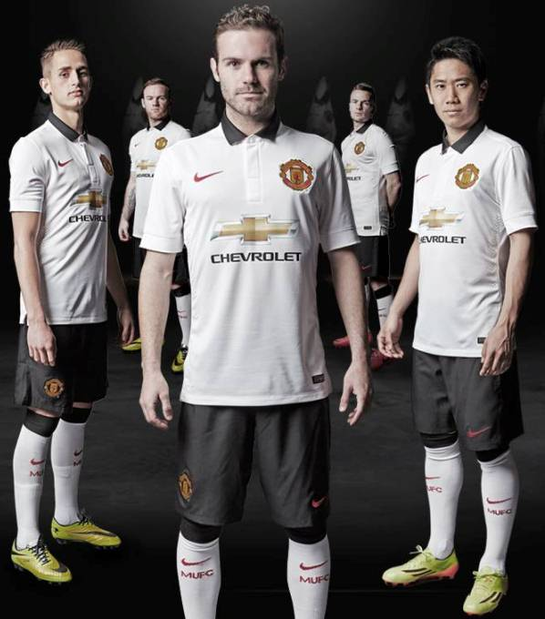 New Manchester United Away Kit 14 15