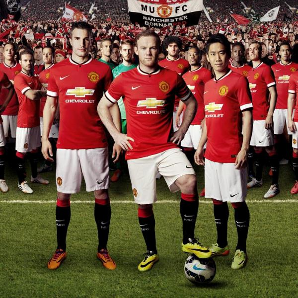 New Manchester United Home Kit 14 15