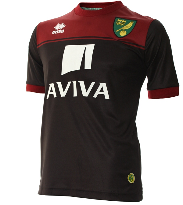 New Norwich Away Kit 14 15