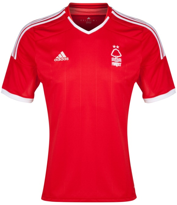 New Nottingham Forest Home Kit 2014 15
