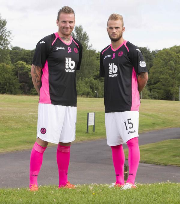 New Partick Thistle Away Kit 14 15