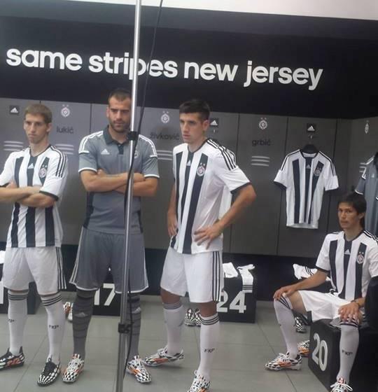 New Partizan Beograd Jersey 2015