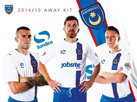 New Pompey Away Kit 2014 15