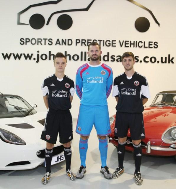 New Sheffield United Away Shirt 2014 2015