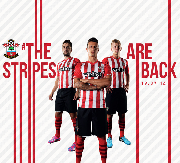 New Southampton Home Kit 14 15