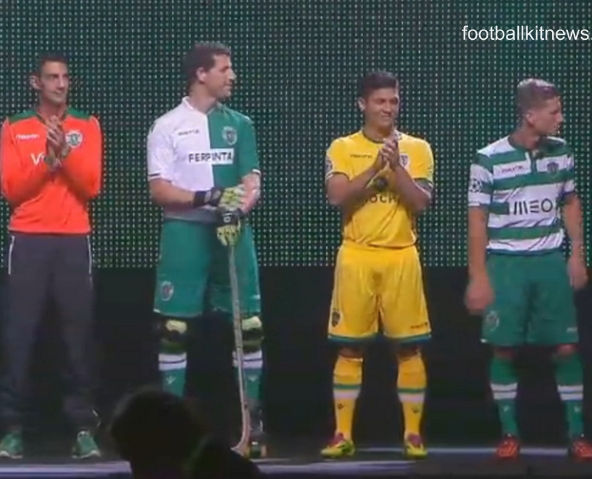 New Sporting CP Shirts 2014 15
