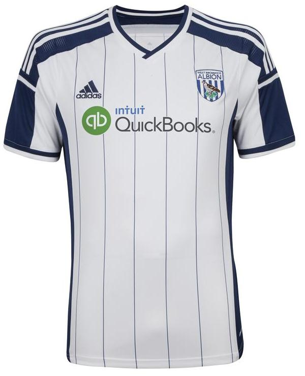 New WBA Home Shirt 2014 2015
