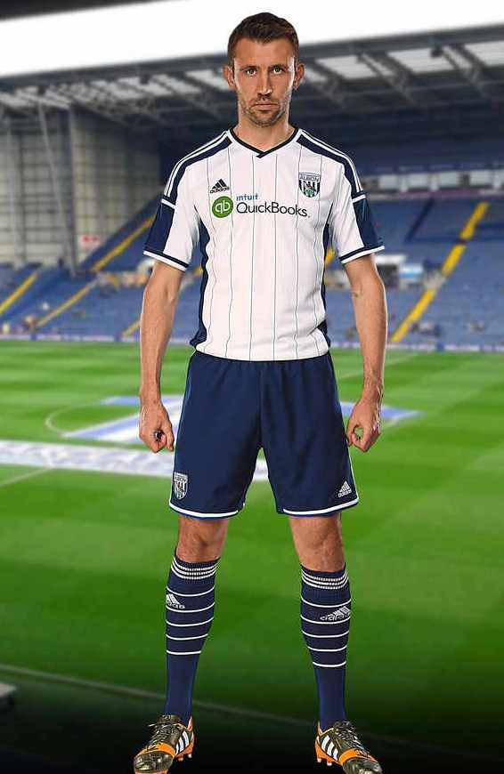 New West Brom Home Kit 2014 15
