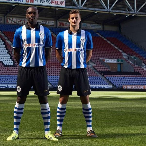 New Wigan Home Kit 14 15