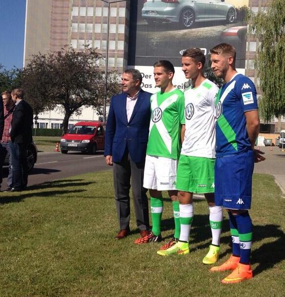 New Wolfsburg Kappa Jersey 2014 2015